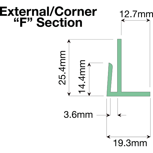 External/Corner F Section