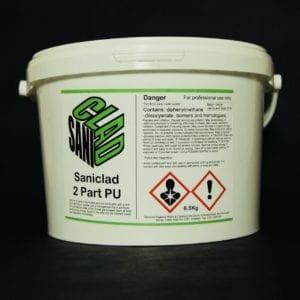 Saniclad Two Part Polyurethane Adhesive 6.5kg