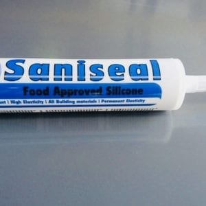 Sani-Seal Food Grade White Silicone 300ml