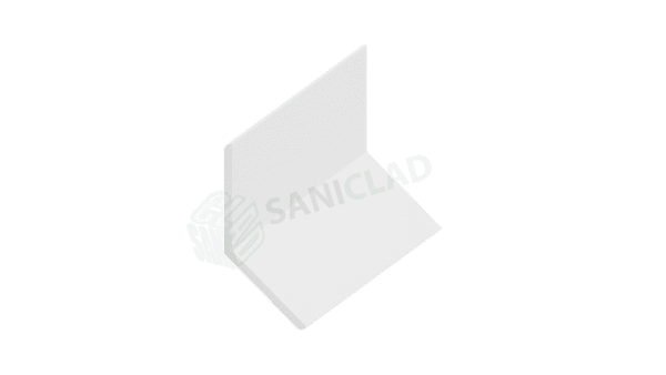 25mm x 25mm Flexible Internal / External PVC Corner